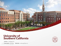 University of Southern California powerpoint template download | 南加州大学PPT模板下载
