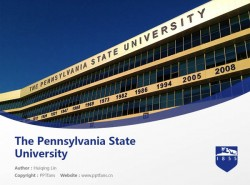 The Pennsylvania State University powerpoint template download | 宾夕法尼亚州立大学PPT模板下载
