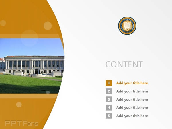 university of california, berkeley powerpoint template download, Presentation templates