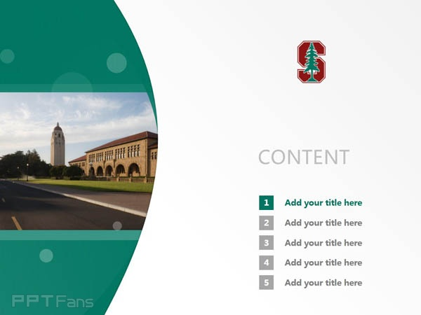 Stanford University powerpoint template download | 斯坦福大学PPT模板下载_slide2