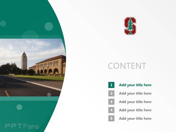 Stanford University powerpoint template download | 斯坦福大学PPT模板下载_幻灯片预览图2
