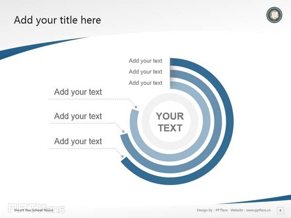 University of California, Los Angeles powerpoint template download   加州大学洛杉矶分校PPT模板下载_slide5