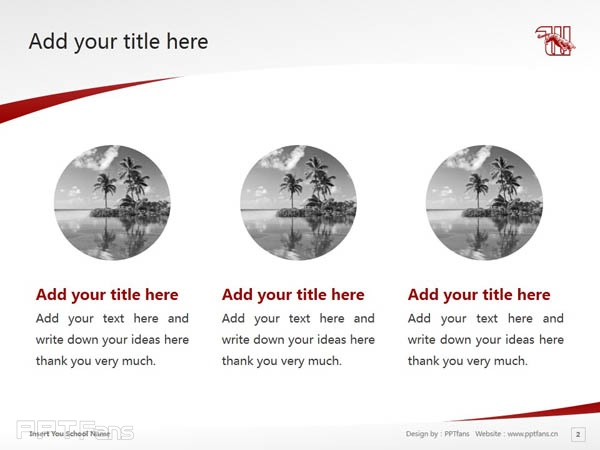 Wittenberg University powerpoint template download | 威腾堡大学PPT模板下载_slide3
