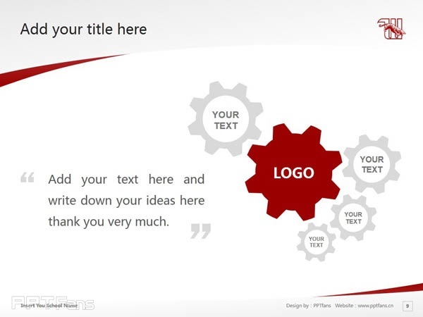 Wittenberg University powerpoint template download | 威腾堡大学PPT模板下载_slide10