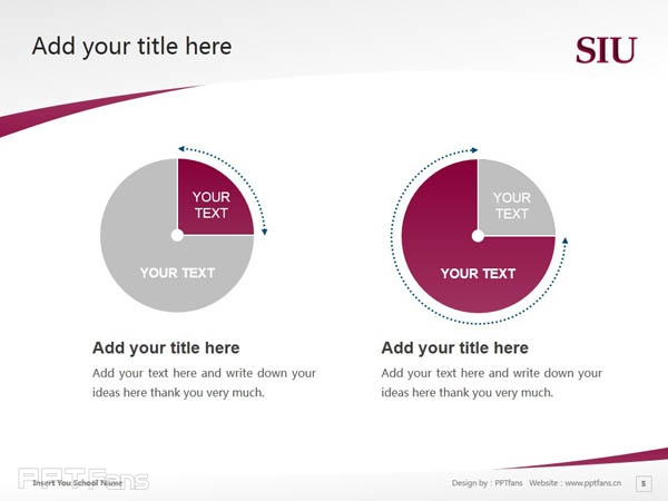 Southern Illinois University-Carbondale powerpoint template download | 南伊利诺斯大学卡本代尔分校PPT模板下载_slide5