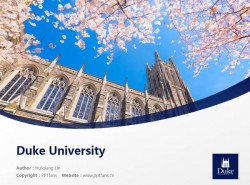 Duke University powerpoint template download | 杜克大学PPT模板下载