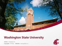 Washington State University powerpoint template download | 华盛顿州立大学PPT模板下载