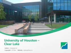 University of Houston – Clear Lake powerpoint template download | 休斯顿大学清湖分校PPT模板下载