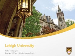 Lehigh University powerpoint template download | 理海大学PPT模板下载