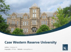 Case Western Reserve University powerpoint template download | 凯斯西储大学PPT模板下载