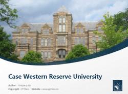 Case Western Reserve University powerpoint template download | 凯斯西储大学PPT模板下载
