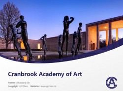 Cranbrook Academy of Art powerpoint template download | 克兰布鲁克艺术学院PPT模板下载