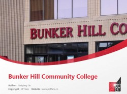 Bunker Hill Community College powerpoint template download | 邦克山社区学院PPT模板下载