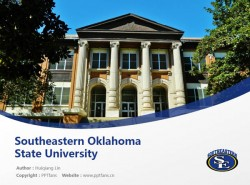 Southeastern Oklahoma State University powerpoint template download | 东南俄克拉荷马州立大学PPT模板下载