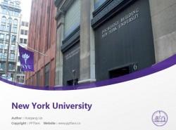 New York University powerpoint template download | 纽约大学PPT模板下载