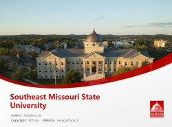 Southeast Missouri State University powerpoint template download | 东南密苏里州立大学PPT模板下载