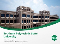 Southern Polytechnic State University powerpoint template download | 南方州立理工大学PPT模板下载