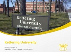 Kettering University powerpoint template download   凯特林大学PPT模板下载