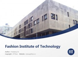 Fashion Institute of Technology powerpoint template download | 时装技术学院PPT模板下载
