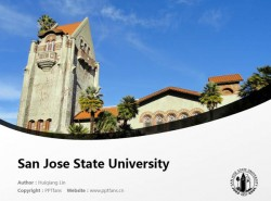 San Jose State University powerpoint template download | 圣何塞州立大学PPT模板下载