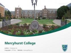 Mercyhurst College powerpoint template download | 梅西赫斯特大学PPT模板下载