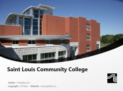 Saint Louis Community College powerpoint template download | 圣路易斯社区学院PPT模板下载
