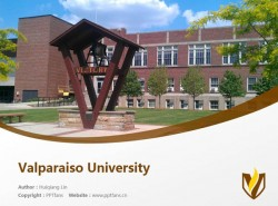 Valparaiso University powerpoint template download | 瓦尔帕莱索大学PPT模板下载