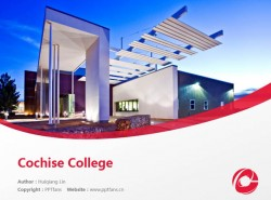 Cochise College powerpoint template download | 科奇斯学院PPT模板下载