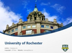 University of Rochester powerpoint template download | 罗彻斯特大学PPT模板下载