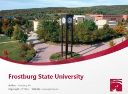 Frostburg State University powerpoint template download | 霜堡州立大学PPT模板下载