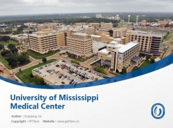 University of Mississippi Medical Center powerpoint template download | 密西西比大学医学中心PPT模板下载