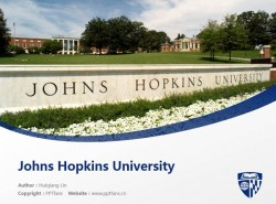 Johns Hopkins University powerpoint template download | 约翰霍普金斯大学PPT模板下载