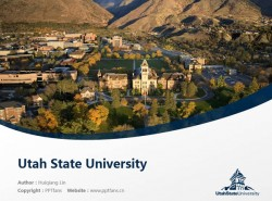 Utah State University powerpoint template download | 犹他州立大学PPT模板下载