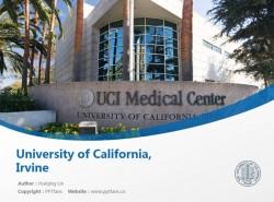 University of California, Irvine powerpoint template download | 加州大学欧文分校PPT模板下载