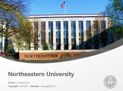 Northeastern University powerpoint template download | 东北大学PPT模板下载