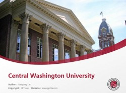 Central Washington University powerpoint template download | 中央华盛顿大学PPT模板下载