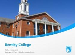 Bentley College powerpoint template download | 本特利大学PPT模板下载