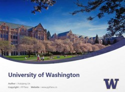 University of Washington powerpoint template download | 华盛顿大学PPT模板下载