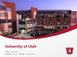 University of Utah powerpoint template download | 犹他大学PPT模板下载