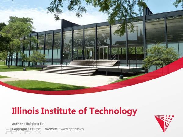 Illinois Institute of Technology powerpoint template download | 伊利诺斯理工学院PPT模板下载_slide0