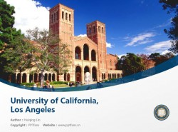 California State University powerpoint template download | 加州州立大学洛杉矶分校PPT模板下载