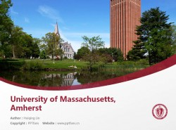 University of Massachusetts Amherst powerpoint template download | 麻省大学阿姆赫斯特分校PPT模板下载