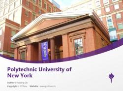 Polytechnic University of New Yorkpowerpoint template download   纽约理工大学PPT模板下载