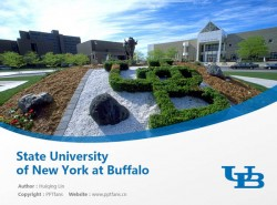 State University of New York at Buffalopowerpoint template download | 纽约州立大学布法罗分校PPT模板下载
