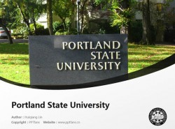 Portland State University powerpoint template download | 波特兰州立大学PPT模板下载