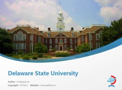 Delaware State University powerpoint template download | 特拉华州立大学PPT模板下载