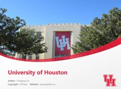 University of Houston powerpoint template download | 休斯顿大学PPT模板下载