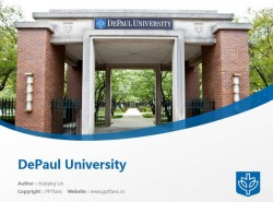 DePaul University powerpoint template download | 德保罗大学PPT模板下载