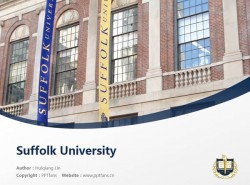 Suffolk University powerpoint template download | 萨福克大学PPT模板下载