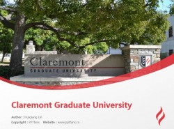 Claremont Graduate University powerpoint template download | 克莱尔蒙特研究生大学PPT模板下载